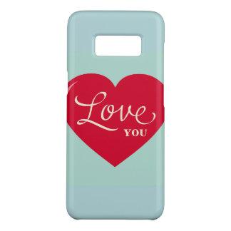 Coque Case-Mate Samsung Galaxy S8 Je t'aime