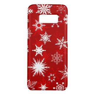 Coque Case-Mate Samsung Galaxy S8 Jolis flocons de neige de Noël