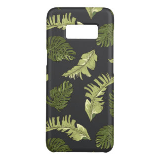 Coque Case-Mate Samsung Galaxy S8 La jungle illustrée part du motif foncé