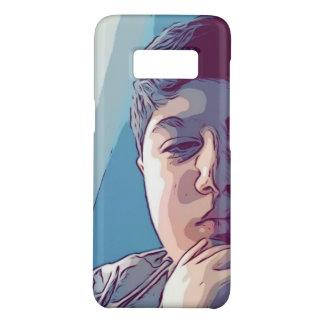 Coque Case-Mate Samsung Galaxy S8 Le côté de la galaxie s8 de Samsung se fanent cas