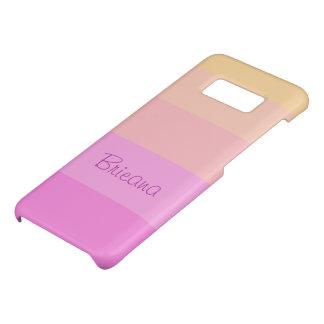 Coque Case-Mate Samsung Galaxy S8 Le pastel barre | personnalisé