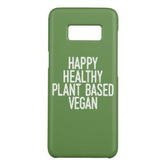 Coque Case-Mate Samsung Galaxy S8 Le plante sain heureux a basé le végétalien