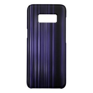 Coque Case-Mate Samsung Galaxy S8 Le pourpre a brouillé le motif de rayures