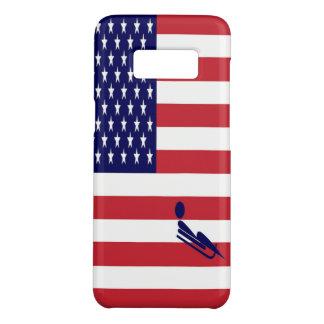 Coque Case-Mate Samsung Galaxy S8 L'équipe Luge les Etats-Unis