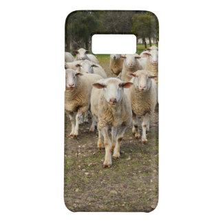 Coque Case-Mate Samsung Galaxy S8 Les moutons viennent marchant dans les hourras,