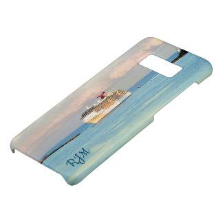 Coque Case-Mate Samsung Galaxy S8 Lever de soleil en pastel avec le bateau de