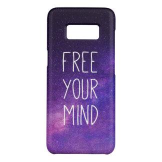 "Coque Case-Mate Samsung Galaxy S8 ""Libre ciel nocturne de bleu de citation de votre"