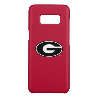 Coque Case-Mate Samsung Galaxy S8 Logo de bouledogues de la Géorgie