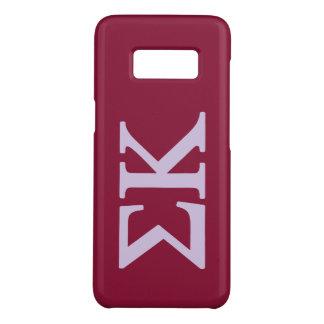 Coque Case-Mate Samsung Galaxy S8 Logo de Lil de Kappa de sigma grand