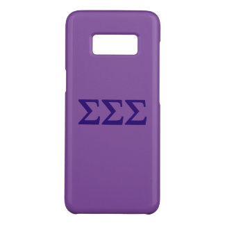 Coque Case-Mate Samsung Galaxy S8 Logo de Lil de sigma de sigma de sigma grand
