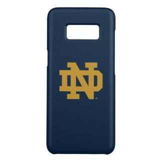 Coque Case-Mate Samsung Galaxy S8 Logo d'emblème de Notre Dame |