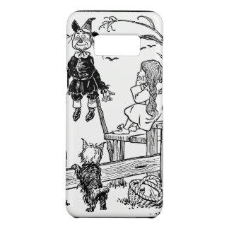 Coque Case-Mate Samsung Galaxy S8 Magicien d'Oz vintage, épouvantail de