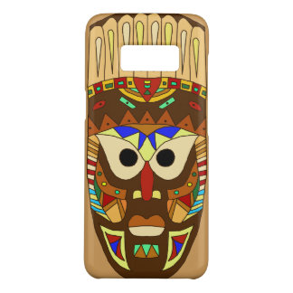 Coque Case-Mate Samsung Galaxy S8 masque africain traditionnel