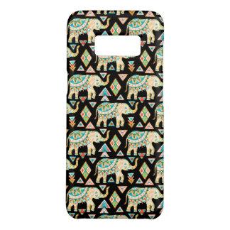 Coque Case-Mate Samsung Galaxy S8 Motif coloré mignon d'éléphants d'Asie
