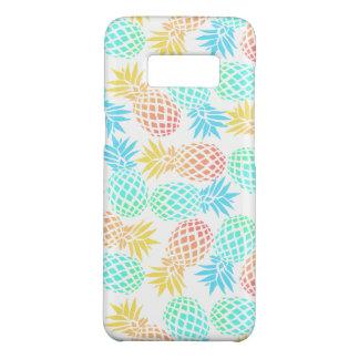 Coque Case-Mate Samsung Galaxy S8 motif coloré tropical d'ananas d'été élégant