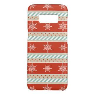 Coque Case-Mate Samsung Galaxy S8 Motif en bon état de flocons de neige de rayures