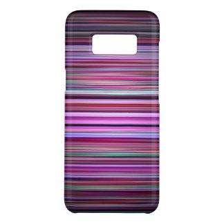 Coque Case-Mate Samsung Galaxy S8 Motif pourpre de rayures