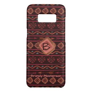 Coque Case-Mate Samsung Galaxy S8 Motif tribal de Boho, personnalisé