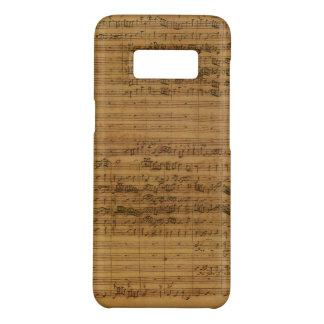 Coque Case-Mate Samsung Galaxy S8 Musique de feuille vintage par Johann Sebastian