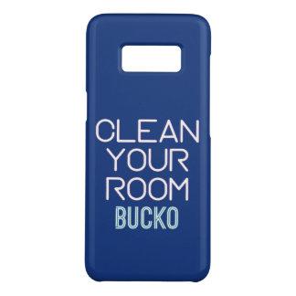 Coque Case-Mate Samsung Galaxy S8 Nettoyez votre pièce Bucko