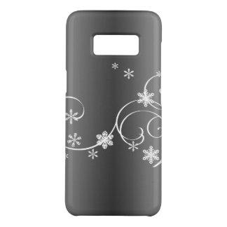 Coque Case-Mate Samsung Galaxy S8 Noël gris métallique