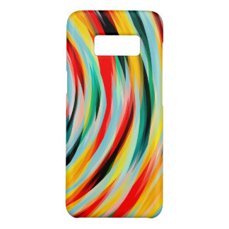 Coque Case-Mate Samsung Galaxy S8 Noir vert-bleu jaune rouge
