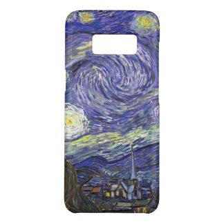 Coque Case-Mate Samsung Galaxy S8 Nuit étoilée de Van Gogh, paysage vintage de