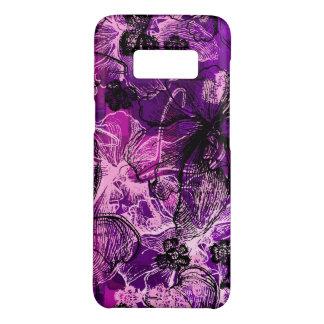 Coque Case-Mate Samsung Galaxy S8 Orchidée hawaïenne de dentelle de Wahine florale