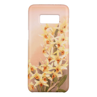 Coque Case-Mate Samsung Galaxy S8 Orchidée jaune vintage de cas de téléphone de