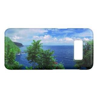 Coque Case-Mate Samsung Galaxy S8 Paradis tropical d'île hawaïenne
