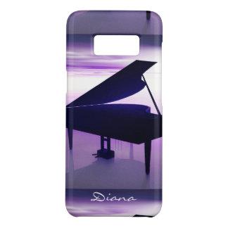 Coque Case-Mate Samsung Galaxy S8 Piano à queue sur la caisse de la galaxie S8 de