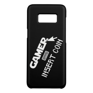 Coque Case-Mate Samsung Galaxy S8 Pièce de monnaie d'insertion de Gamer