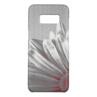 Coque Case-Mate Samsung Galaxy S8 Points culminants floraux rouges et gris