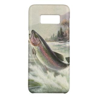 Coque Case-Mate Samsung Galaxy S8 Poissons vintages de truite arc-en-ciel, pêche de
