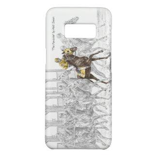 Coque Case-Mate Samsung Galaxy S8 Porte démarrante de course de cheval