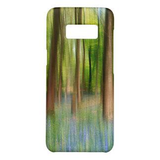 Coque Case-Mate Samsung Galaxy S8 Région boisée BRITANNIQUE de chêne de jacinthe des