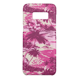 Coque Case-Mate Samsung Galaxy S8 Rose pittoresque d'île hawaïenne de baie de Napili