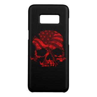 Coque Case-Mate Samsung Galaxy S8 Rouge américain de crâne