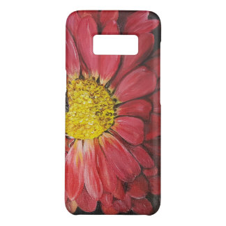 Coque Case-Mate Samsung Galaxy S8 Rouge la fleur hoesje