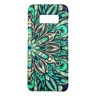 Coque Case-Mate Samsung Galaxy S8 Sarcelle d'hiver géométrique tribale et mandala