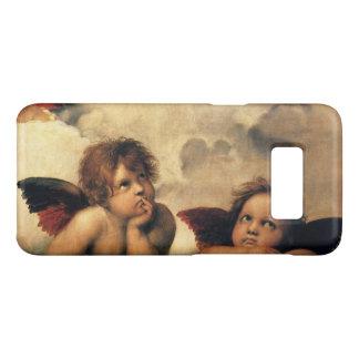 Coque Case-Mate Samsung Galaxy S8 Sistine Madonna, détail d'anges par Raphael