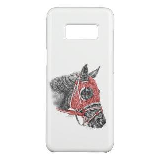 Coque Case-Mate Samsung Galaxy S8 Soies de portrait de cheval de course
