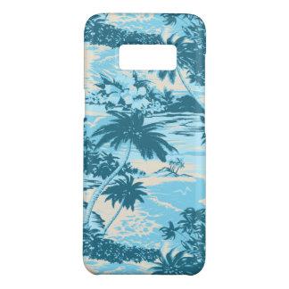 Coque Case-Mate Samsung Galaxy S8 Turquoise pittoresque d'île hawaïenne de baie de
