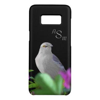 Coque Case-Mate Samsung Galaxy S8 Un oiseau moqueur du nord avec le feuille pourpre