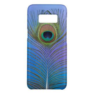 Coque Case-Mate Samsung Galaxy S8 Verticale de plume de paon