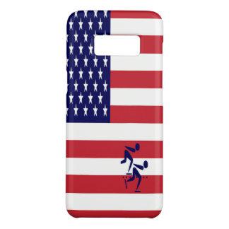 Coque Case-Mate Samsung Galaxy S8 Vitesse Etats-Unis de patinage d'équipe