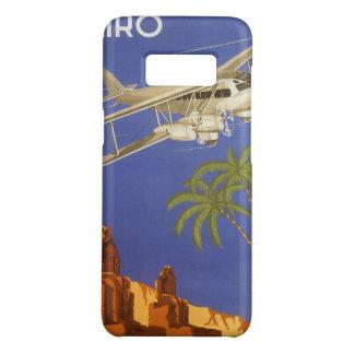 Coque Case-Mate Samsung Galaxy S8 Voyage vintage vers le Caire, Eygpt, avion de