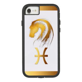 Coque Case-Mate Tough Extreme iPhone 7 Astrologie chinoise et occidentale de cheval de