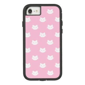 Coque Case-Mate Tough Extreme iPhone 7 Caisse blanche de téléphone de chat