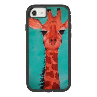 Coque Case-Mate Tough Extreme iPhone 7 Cas de téléphone portable de girafe